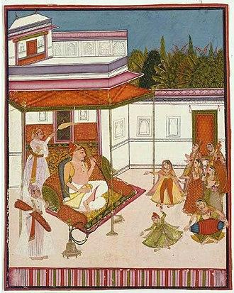 Bundi State - Maharao Umed Singh of Bundi