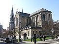 236 Església nova de Santo Tomás de Canterbury (Sabugo, Avilés), angle nord-est.jpg