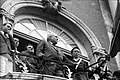 24.05.1968. Manif étudiants L. Bazerque au balcon. (1968) - 53Fi3257.jpg
