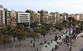 264 La Barceloneta des de la terrassa del Museu d'Història de Catalunya.JPG