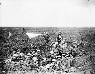 28th Battalion (Northwest), CEF - 28th Battalion establishing a signal station at the Battle of Vimy Ridge