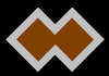 Unit Colour Patch of the 2/7th Independent Company/2/7th Commando Squadron.
