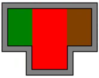 2/11th Commando Squadron (Australia) - Image: 2 9th Cav Cdo Regt Unit Colour Patch 2