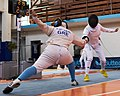 2nd Leonidas Pirgos Fencing Tournament. Touch for the fencer on the right.jpg