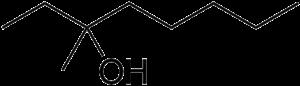 3-Methyl-3-octanol - Image: 3 Methyl 3 octanol
