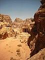 31 Petra High Place of Sacrifice Trail - The Garden Hall - panoramio.jpg