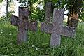 3311-3310 Pühalepa, ristid Aids Petersi (1837) ja Marre wotti (1872) haual.jpg
