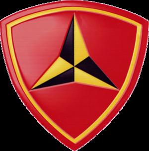 3rd Marine Division (United States) - 3rd Marine Division insignia