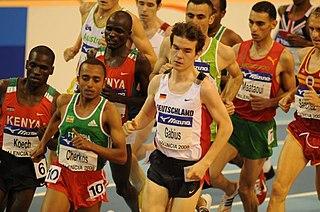 Abreham Cherkos Ethiopian long-distance runner