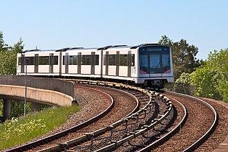 Oslo Metro - MX3000 on the Østensjø Line