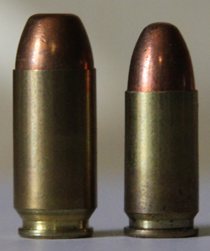 .41 Action Express - Image: 41aeand 9mm