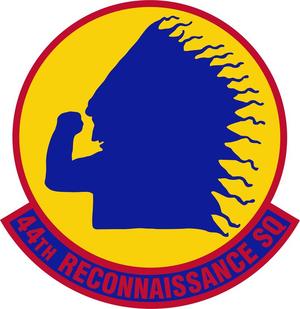 44th Reconnai8ssance Squadron - Image: 44 Reconnaissance Sq emblem