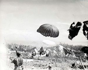 503rd Infantry Regiment (United States) - Paratroopers of the 503rd PRCT descend on Corregidor, 16 February 1945.