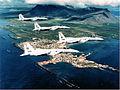 57th Fighter-Interceptor Squadron F-15 Eagles over Iceland 1986.jpg