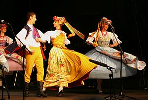 National costumes of Poland - Bytom, Upper Silesia