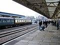 60019 Bittern departs from Newport station - geograph.org.uk - 1606719.jpg