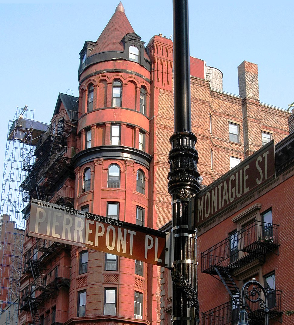 62 Montague Street between Pierrepont Place and Hicks Street in Brooklyn Heights (2006)