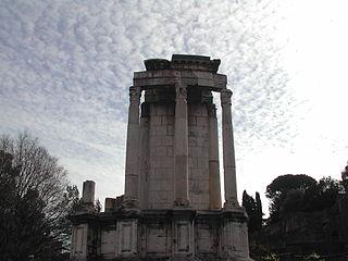 63 foro - tempio di vesta.JPG