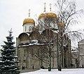 687px-Uspensky Sobor, Moscow, winter.jpg