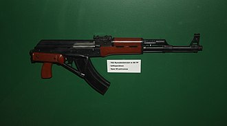 Type 56 assault rifle - A Type 56-2 rifle with stock folded.