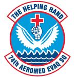 74th Aeromedical Evacuation Sq emblem.png