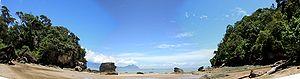 Bako National Park - Bako National Park beach panorama