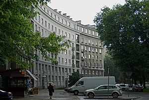 Nowa Huta - Nowa Huta's street hierarchy and certain buildings often resemble Paris