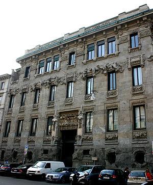 Porta Venezia - Palazzo Castiglioni in Corso Venezia