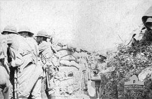 9th Light Horse Regiment (Australia) - 9th Light Horse trench Gallipoli