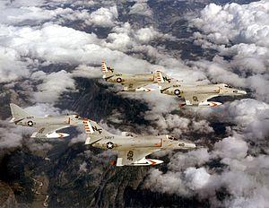 VA-56 (U.S. Navy) - Four VA-56 A-4Es, mid-1960s