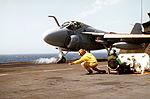 A-6E of VA-42 launched from USS Lexington (AVT-16) 1984.JPEG