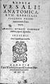 A. Vesalius, Anatomicarum G. Fallopii observ Wellcome L0032124.jpg