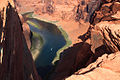 A250, Glen Canyon National Recreation Area, Colorado, USA, Colorado River at Horseshoe Bend, 2008.JPG