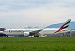 A6-ENR Boeing B777-31HER B77W - UAE (26003982564).jpg
