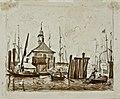 AF Vollmer Hamburger Binnenhafen mit Blockhaus um 1840.jpeg