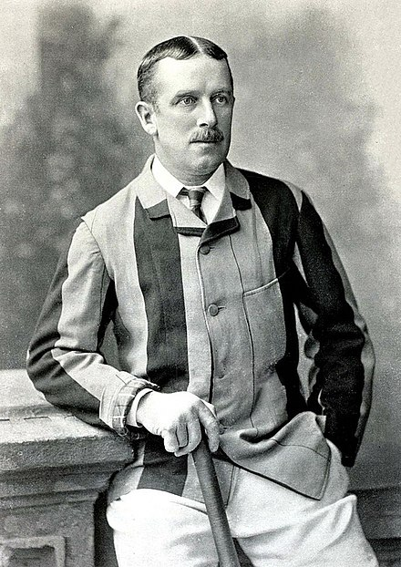 A. N. Hornby is one of three players to have a bowling average of zero in Test cricket. AN Hornby c1895.jpg