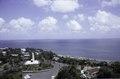 ASC Leiden - F. van der Kraaij Collection - 05 - 014 - The white lighthouse, the Monument - Monrovia, Mamba Point, Montserrado, Liberia, 1975.tif