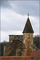 AUBAS (Dordogne) - Clocher de l'église Saint-Cyr et Sainte-Julitte-3.JPG