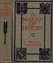Cover of A Maker of History from a circa 1906 New York publication