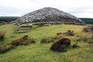 Grey Cairns of Camster - Camster Long Cairn, Caithness