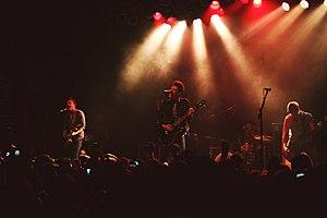 A Rocket to the Moon - A Rocket to the Moon performing in 2011