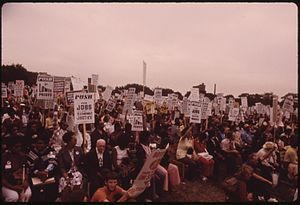 Rainbow/PUSH - Lake Shore Drive Senior Citizens March (July 1973)
