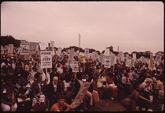 Rainbow/PUSH - Lake Shore Drive Senior Citizens March (July 1973)