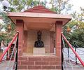 A Statue of Shivaji Maharaj at Narayan Maharaj Math,Shembdi Vaghali,Satara.jpg