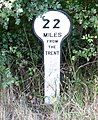 A mile marker along the Grantham Canal - geograph.org.uk - 979941.jpg