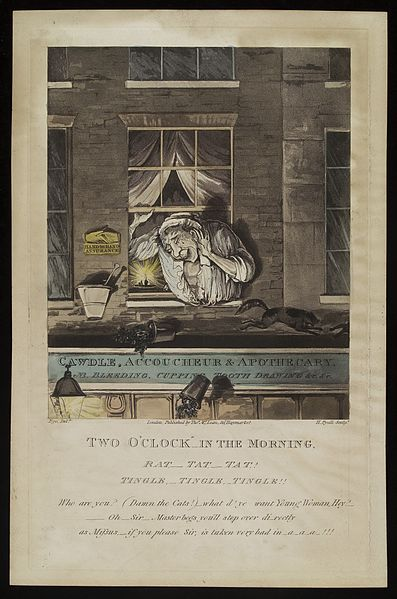 File:A surgeon-apothecary shouts back from an open window at a Wellcome L0037310.jpg