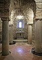 Abbazia di farneta, interno, cripta del ix o x secolo, 06.jpg