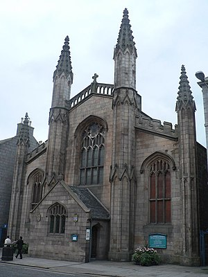 St Andrew's Cathedral, Aberdeen - Image: Aberdeen, St. Andrew's Cathedral geograph.org.uk 598057