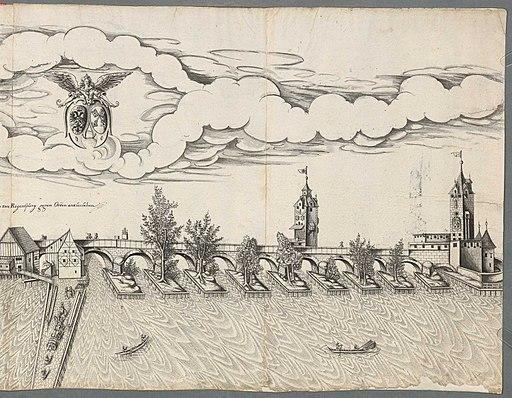 Abriss der Stadt Regensburg 1630-2-4