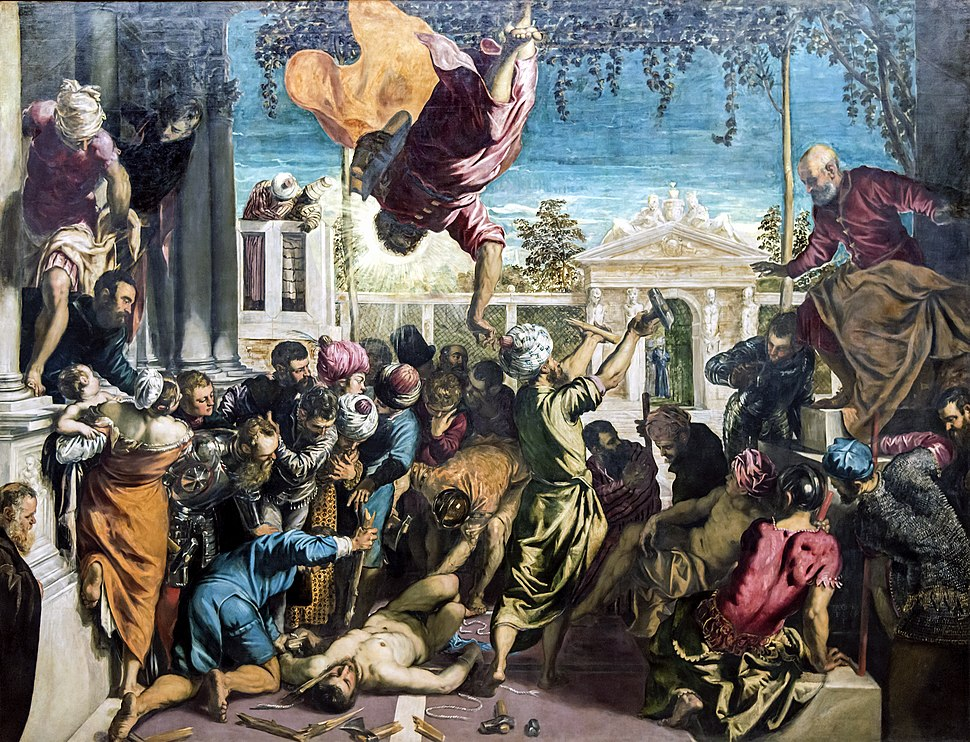 Accademia - Miracle of the Slave by Tintoretto